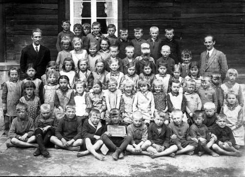 Pierwsi uczniowie