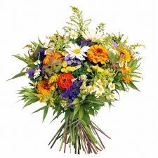 Letni bukiet zogrodowych ipolnych kwiatów - Kwiaciarnia Rikka
